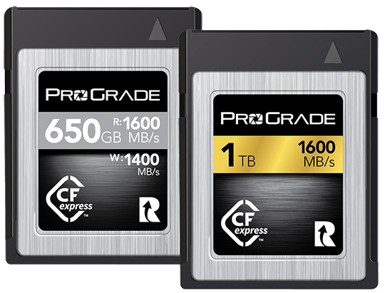 ProGrade Digital CFexpress memory cards are coming - Nikon