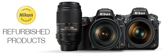 Refurbished Nikon sale at Adorama (D750: $1089, D610: $899, D500: $1379 and more)