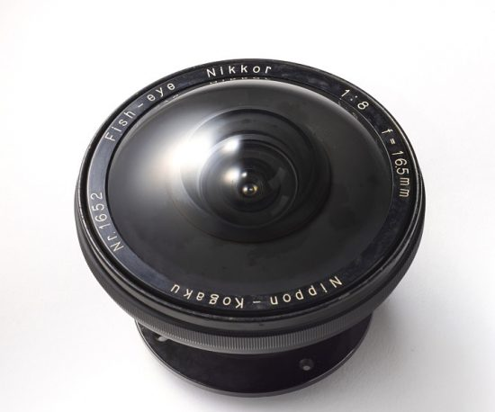 Fisheye Nikkor 16.5mm F8 from 1941