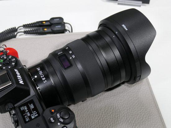 NIKKOR Z 24-70mm f:2.8 S lens