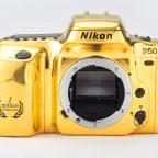 Nikon F50 Gold camera 1997