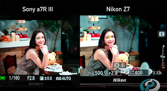 CP+ show report: Nikon Z7 vs  Sony a7R III eye AF comparison