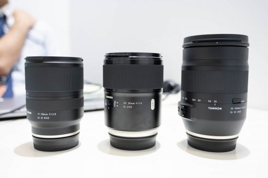 Tamron is still exploring the possibility of developing mirrorless lenses for Nikon Z-mount