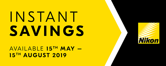 New Nikon instant savings now live in Europe