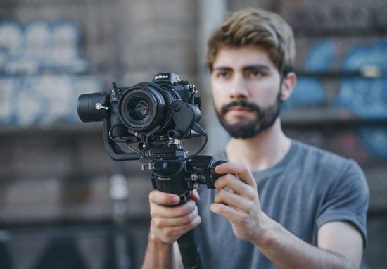 DJI Ronin-SC gimbal stabilizer for mirrorless cameras announced with Nikon Z6/Z7 support