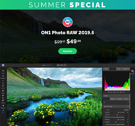 New releases and discount offers: Luminar 4, Topaz Studio 2