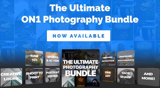 New releases and discount offers: Luminar 4, Topaz Studio 2, ON1