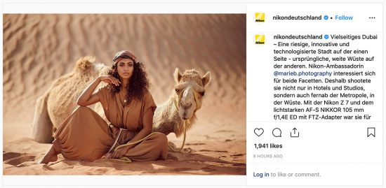 Here is a new photo from a Nikon ambassador taken in Dubai