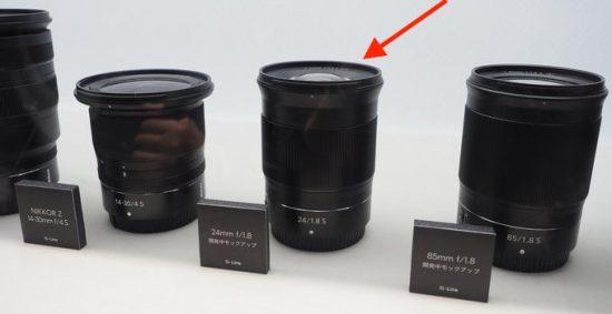 Nikon Nikkor Z 24mm f/1.8 S mirrorless lens additional information