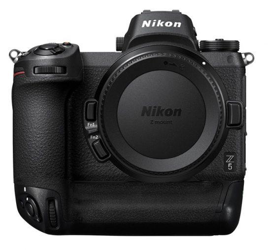 Nikon pro mirrorless camera