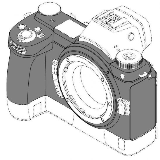 No, this is not the Nikon Z9 camera design patent