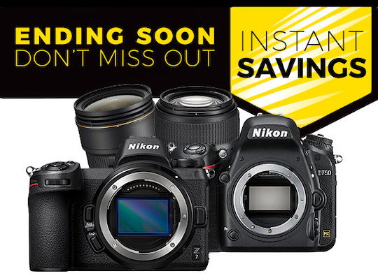 Nikon savings in Europe are ending this week (Thursday, August 15th)