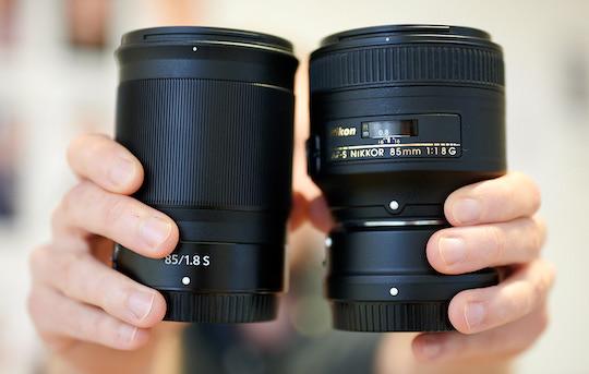 Nikon Nikkor Z 85mm f/1 8 S lens additional coverage (sample