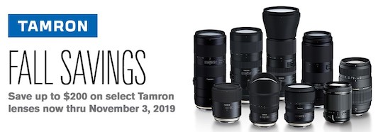New Tamron firmware update for Nikon FTZ and new Tamron lens