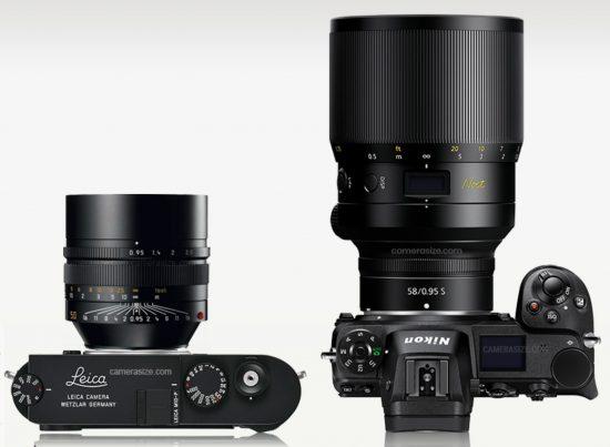 Nikon Z-Noct-Nikkor 58mm f/0.95 lens additional coverage