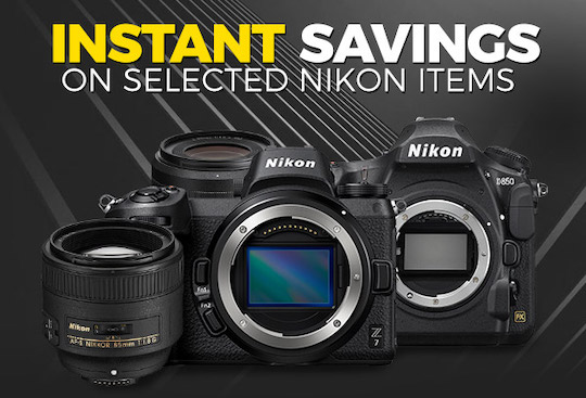 New Nikon instant savings in Europe