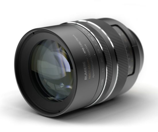 New Rumiere Noct-Master APO 75mm f/0.95 mirrorless full-frame manual focus lens for Nikon Z-mount (Noct?)
