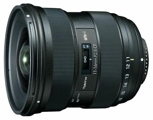 Tokina ATX-i 11-16mm f/2.8 CF lens for Nikon F-mount officially announced