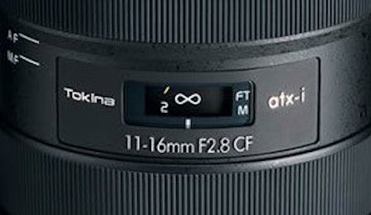 New Tokina ATX-i 11-16mm f/2.8 CF lens for Nikon F-mount to be announced this week