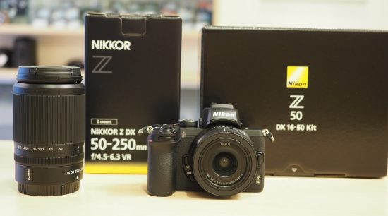 Nikon Z50 now shipping, currently in stock