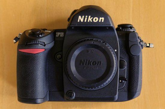 refurbished Nikon F6 film SLR camera