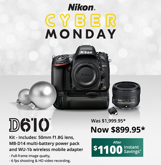 Nikon D610 Fire Sale For Cyber Monday Nikon Rumors