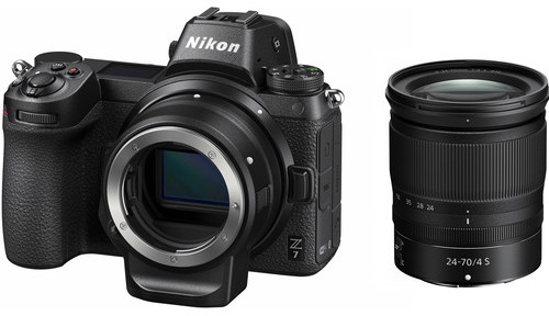 Deal of the day: Nikon Z7 with 24-70mm f/4 lens & FTZ adapter for $2,847