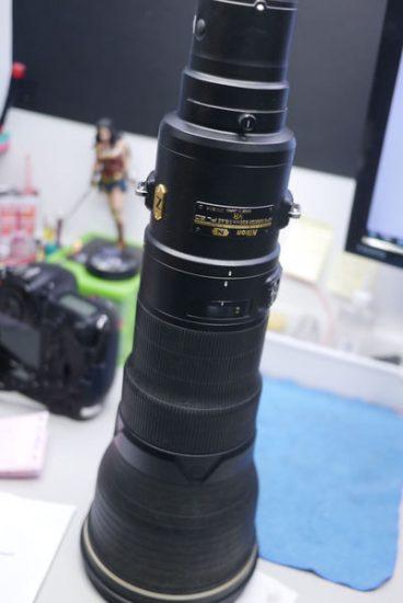 Nikon AF-S NIKKOR 800mm f/5.6E FL ED VR lens water damage repair