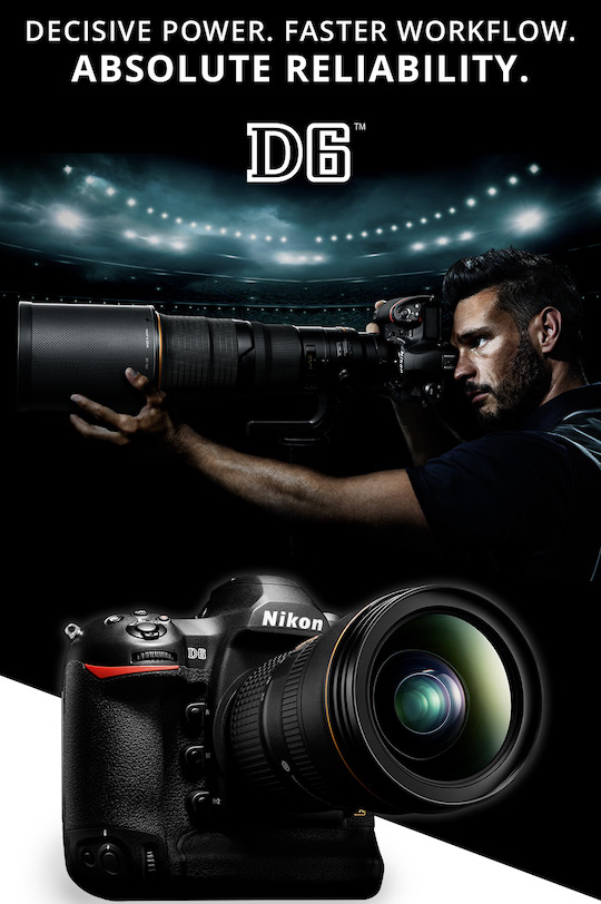 Nikon D6 additional coverage