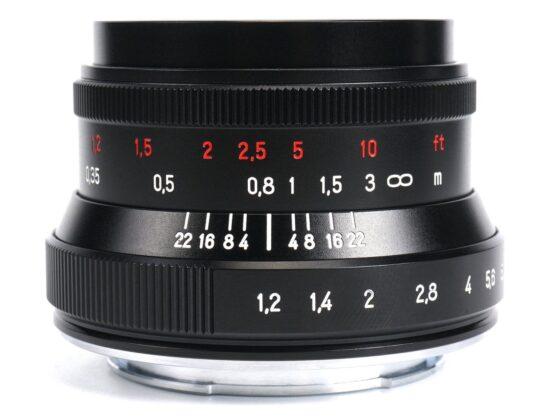 Coming soon: new 7Artisans 35mm f/1.2 Mark II mirrorless APS-C lens for Nikon Z-mount
