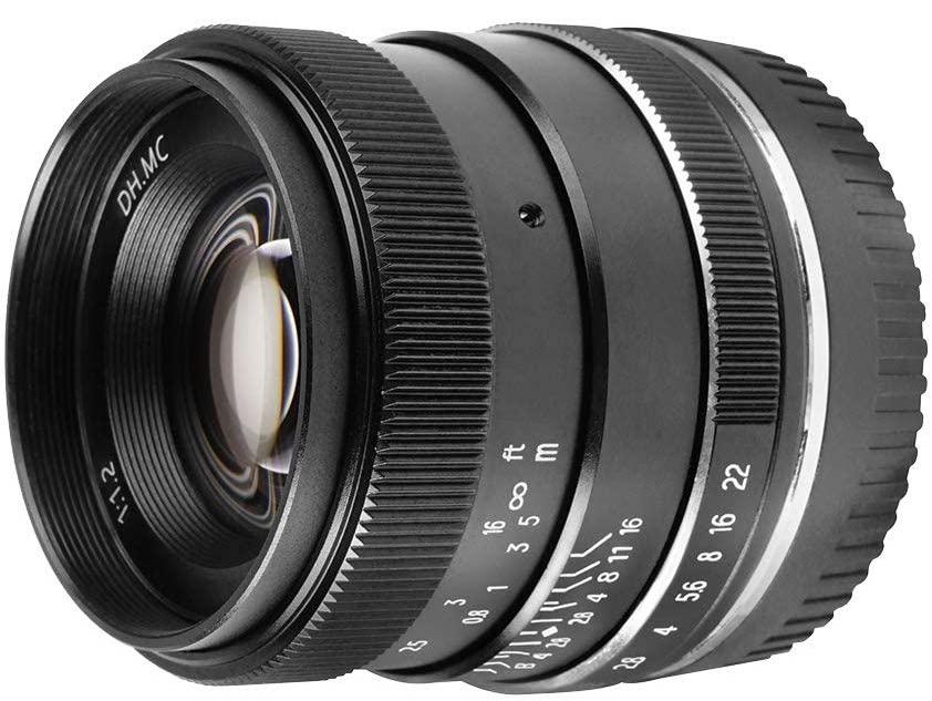 New: Pergear35mm f/1.2 manual focus APS-C mirrorless lens for Nikon Z-Mount