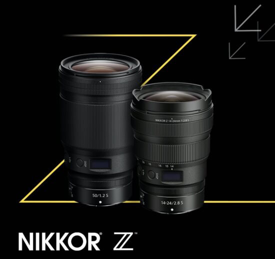 Pre-orders open for the new Nikkor Z 50mm f/1.2 S and Z 14-24mm f/2.8 S lenses