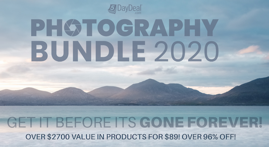 The new 5DayDeal 2020 Complete Photography Bundle is here