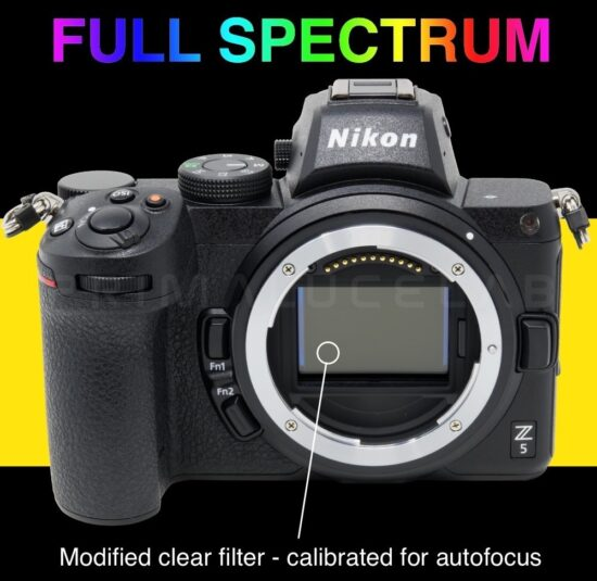 Nikon Z5 full spectrum camera for astronomy, UV and IR photography announced