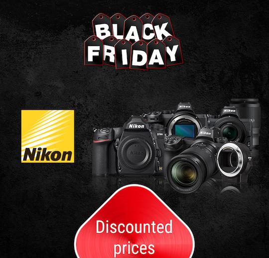 Nikon Black Friday deals at Calumet Germany