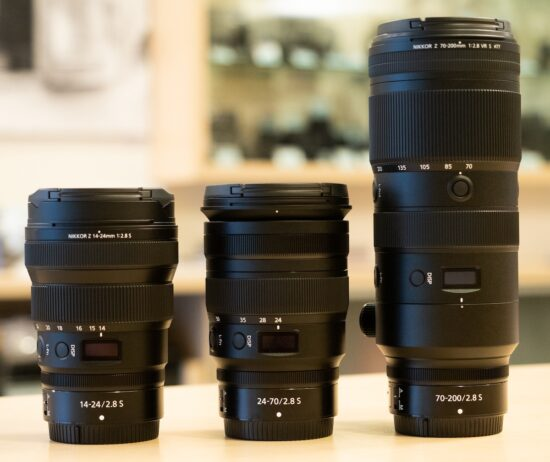 Interview with Nikon engineers on the Nikkor Z 14-24mm, 24-70mm, and 70-200mm f/2.8 lenses