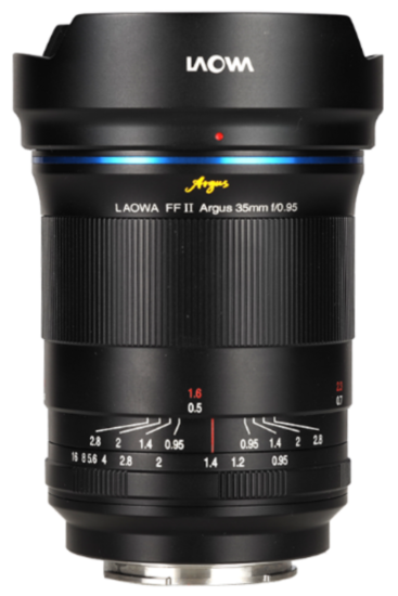 Here are the upcoming Laowa Argus f/0.95 mirrorless lenses for Nikon Z-mount