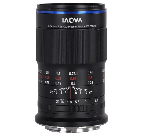 Just released: Laowa 65mm f/2.8 2x Ultra-Macro APO for Nikon Z-mount