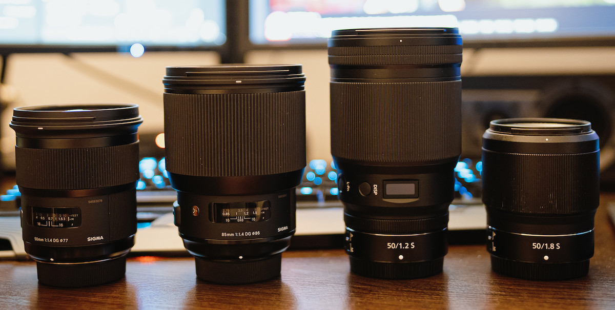 Nikon Nikkor Z 50mm F 1 2 S Compared To The Sigma 50mm F 1 4 Dg Hsm Art And Other Lenses Nikon Rumors