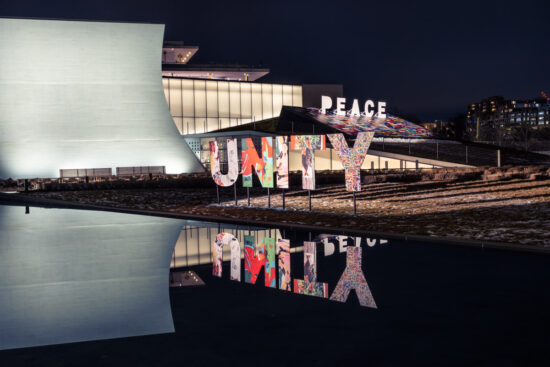 Peace and Unity Exhibit – Z7ii ISO 64 3 Seconds f16 FTZ Sigma ART 35 1.4