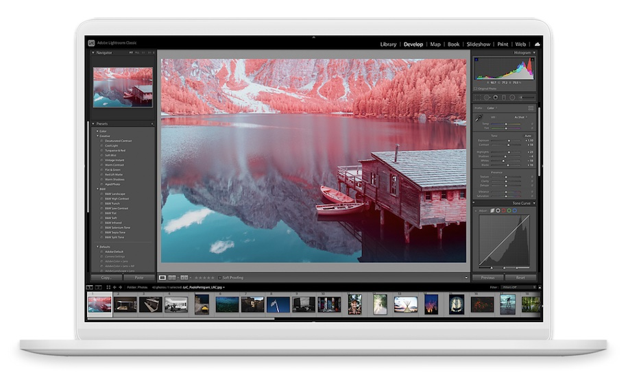Lightroom cc tethered live view