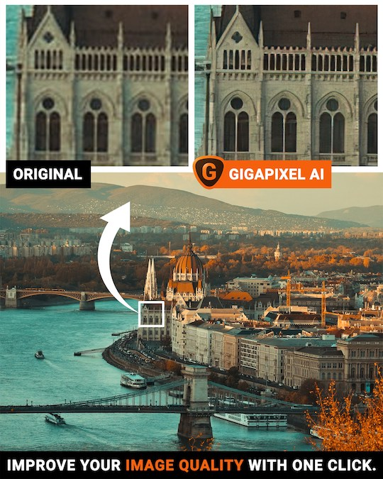 Ending this weekend: $20 off the new version ofTopaz Labs Gigapixel AI