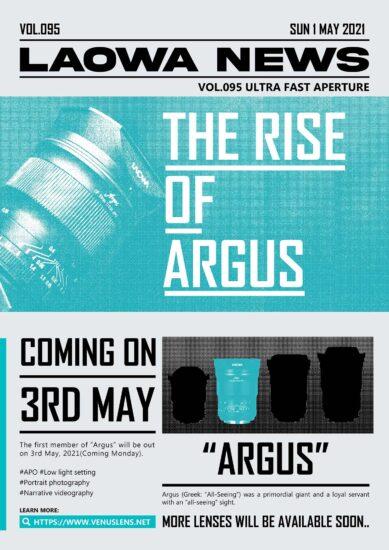 Venus Optics Laowa Argus 33mm f/0.95 APS-C lens for Nikon Z-mount to be announced on Monday