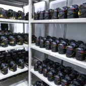 Check out the Nikon gear room at the Tokyo Olympic Games 2021