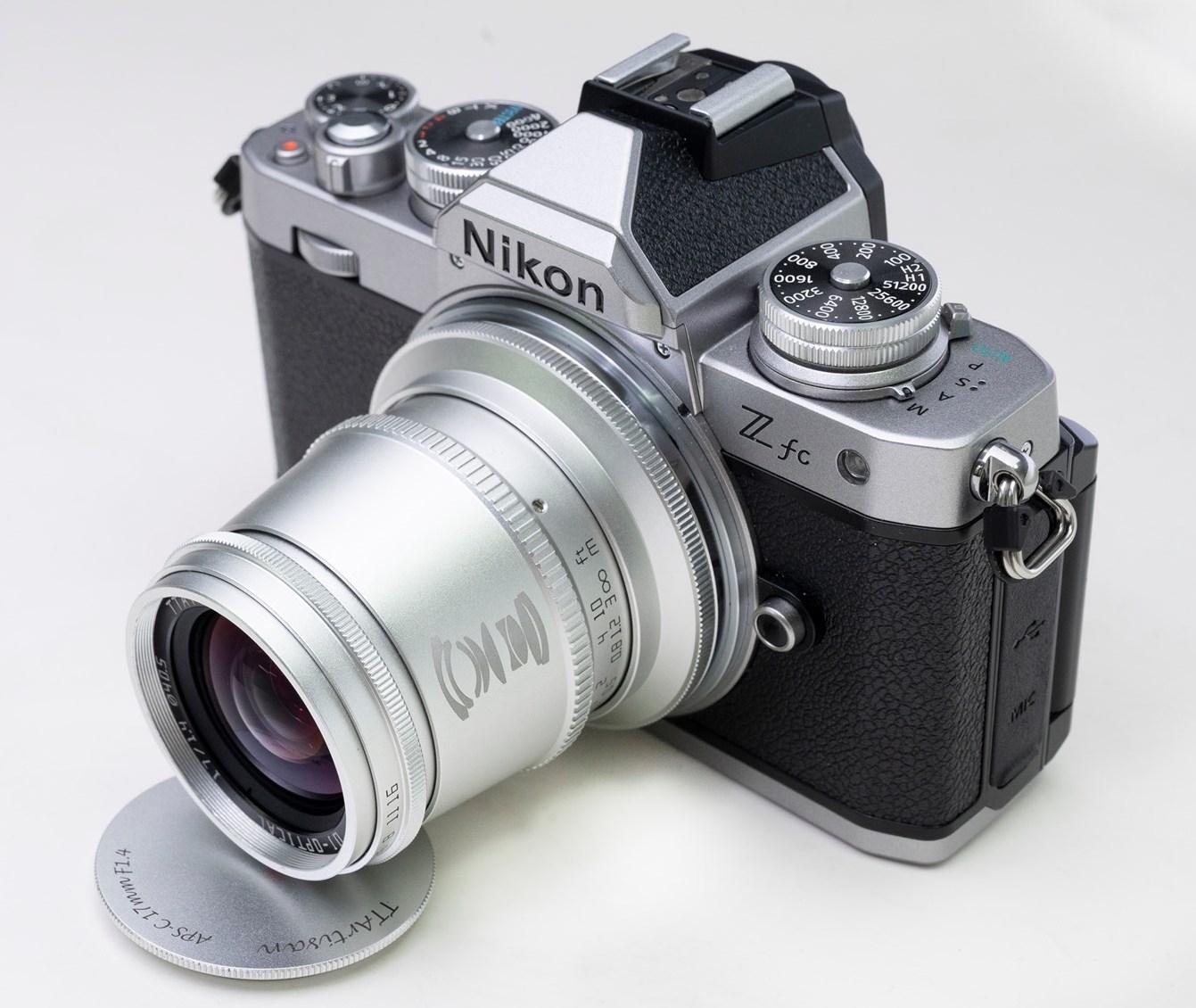 TTartisan rilascerà nuovi obiettivi APS-C argento da abbinare alla fotocamera Nikon Z fc