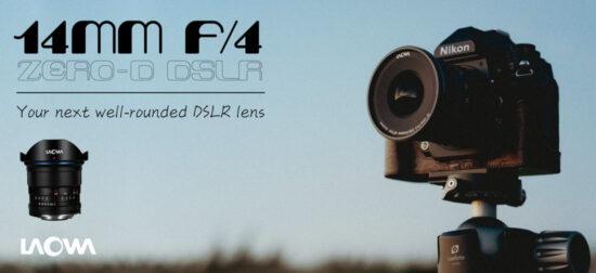 Venus Optics announced new Laowa 14mm f/4 Zero-D lens for Nikon F-mount
