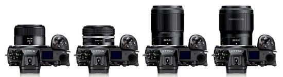 Nikon Nikkor Z 40mm f/2 lens comparisons