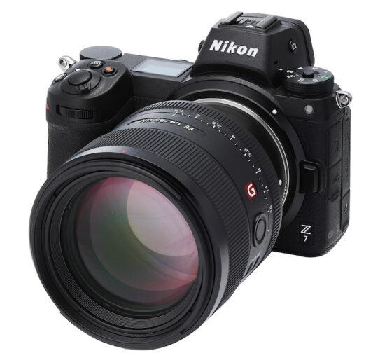 Techart released a new TZE-02 Sony E lens to Nikon Z mount adapter