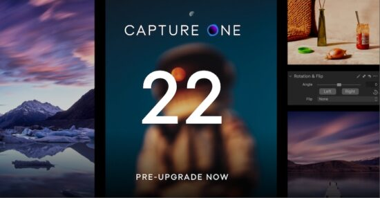 New Capture One 22 pre-upgrade campaign, major Photoshop and Lightroom updates, new version of ON1 Photo RAW 2022