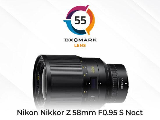 Nikon Nikkor Z 58mm f/0.95 S Noct lens tested at DxOMark: the highest score ever achieved and the best sensor/lens combo ever tested